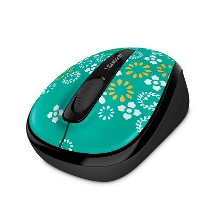Mouse Microsoft Mobile 3500 Oh Joy sem fio