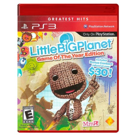 Jogo LittleBigPlanet (GOTY) - PS3