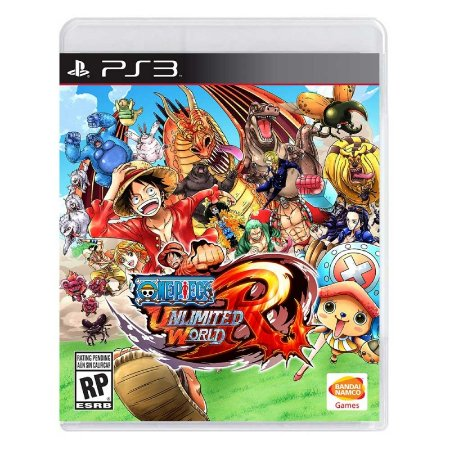 Jogo One Piece: Unlimited World Red - PS3