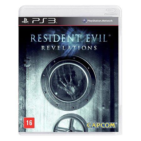Jogo Resident Evil: Revelations - PS3