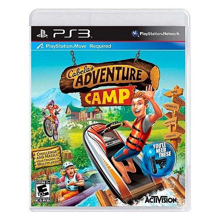 Jogo Cabela's Adventure Camp - PS3