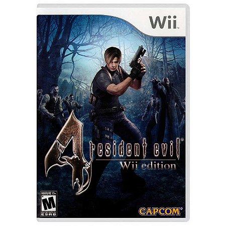Jogo Resident Evil 4 - Wii