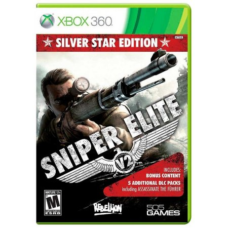 Jogo Sniper Elite V2 (Silver Star Edition) - Xbox 360