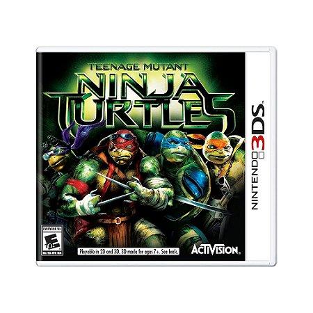 Jogo Teenage Mutant Ninja Turtles - 3DS