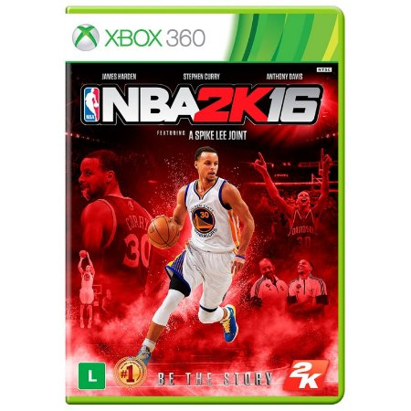 Jogo NBA 2K16 - Xbox 360