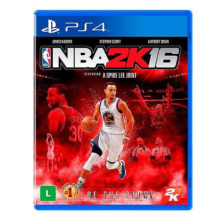 Jogo NBA 2K16 - PS4