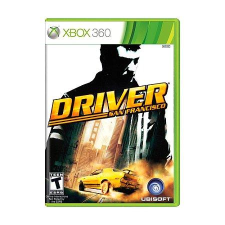 Jogo Driver: San Francisco - Xbox 360
