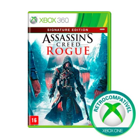Jogo Assassin's Creed Rogue (Signature Edition) - Xbox 360