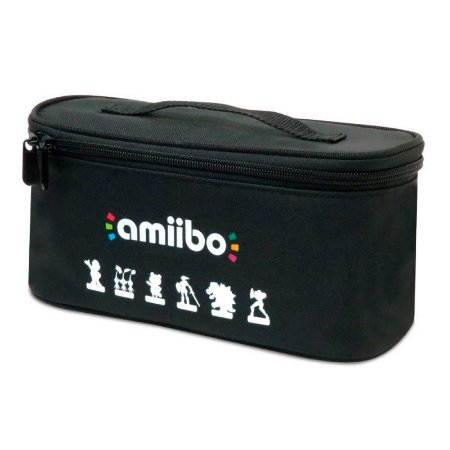 Bolsa Hori Trio Case para Amiibo - Wii U