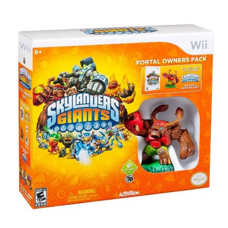 Kit Skylanders: Giants Portal Owners Pack - Wii
