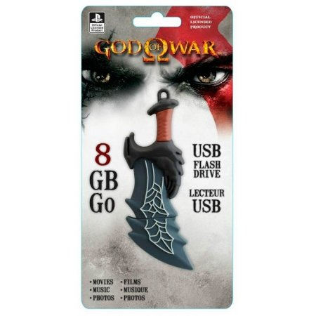 Pen Drive Sony 8gb God of War