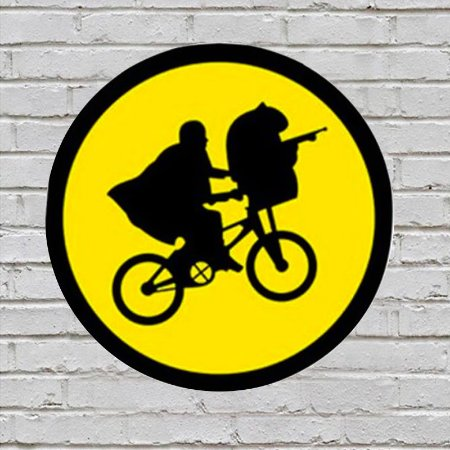 Placa de Parede Decorativa: Et - ShopB