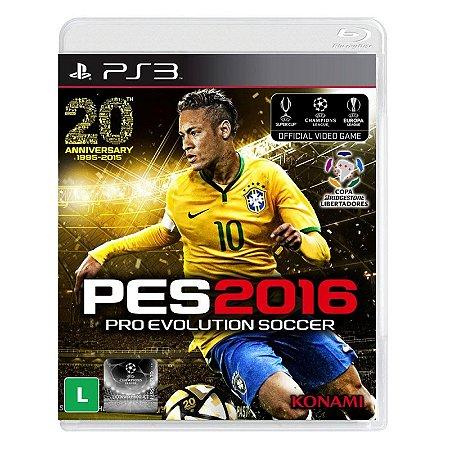 Jogo Pro Evolution Soccer 2016 (PES 16) - PS3
