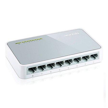 Switch TP-LINK TL-SF1008D 8 portas 10/100Mbps - TP-LINK