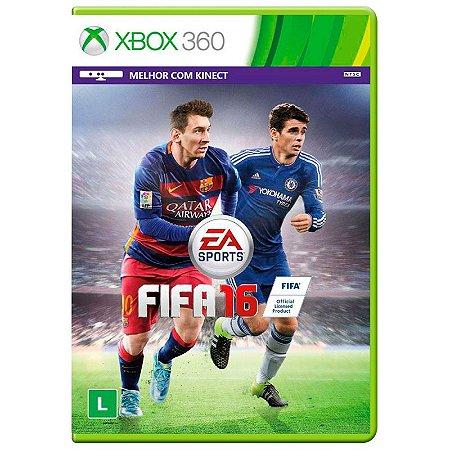 Jogo Fifa 2016 (FIFA 16) - Xbox 360