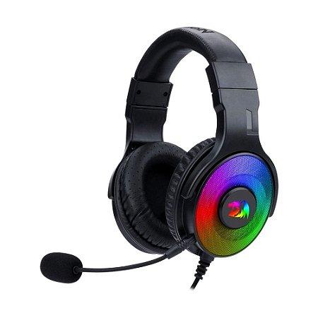 Headset Gamer Redragon Pandora H350RGB RGB 7.1 com fio - PC