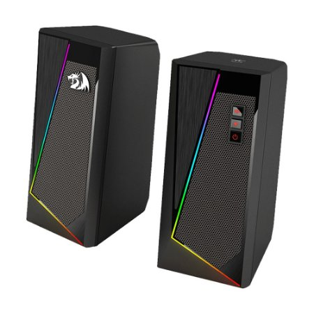 Caixa de Som Gamer Redragon Anvil 2.0 GS520 RGB 5W com fio