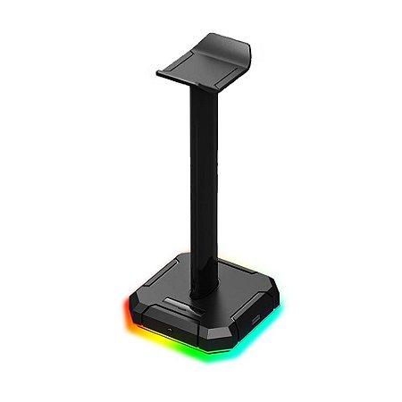 Base Suporte para Headset Redragon Scepter PRO RGB HA300 Preto