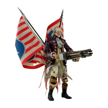 Action figure Bioshock Infinite Benjamin Franklin Patriot - 9''