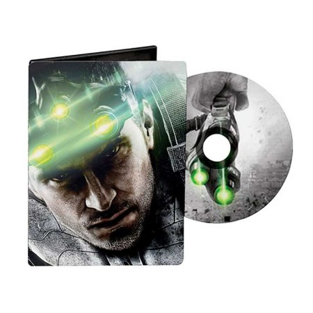 SteelBook Colecionável Ubisoft Tom Clancy's Splinter Cell: Blacklist