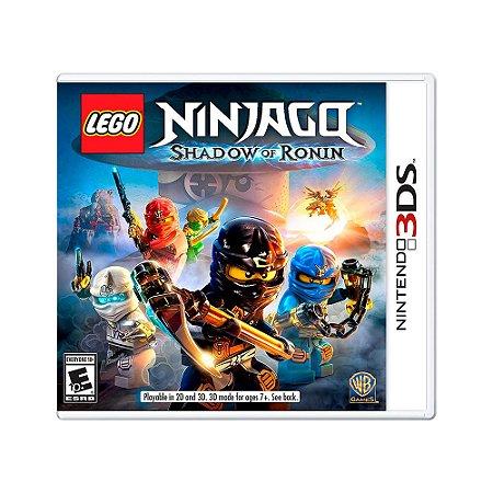 Jogo LEGO Ninjago: Shadow of Ronin - 3DS