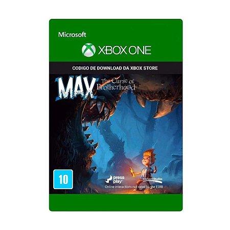 Jogo Max: The Curse Of Brotherhood (Mídia Digital) - Xbox One