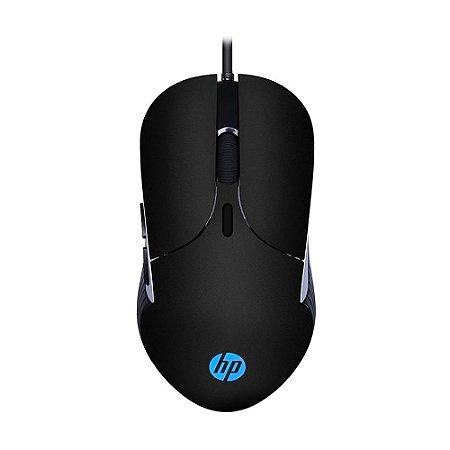 Mouse Gamer HP M280 2400 DPI RGB Preto com fio