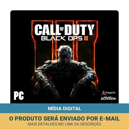 Jogo Call of Duty: Black Ops III + DLC (Mídia digital) - PC
