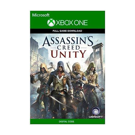 Jogo Assassin's Creed Unity (Mídia Digital) - Xbox One