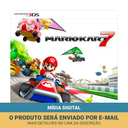 Jogo Mario Kart 7 (Mídia digital) - 3DS