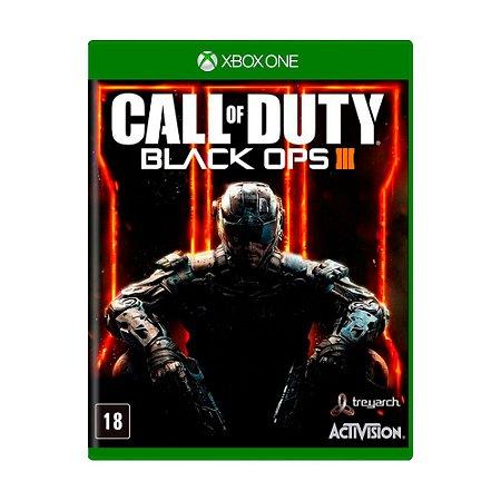 Jogo Call of Duty: Black Ops III - COD BO3 - Xbox One
