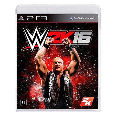 Jogo WWE 2K16 - PS3