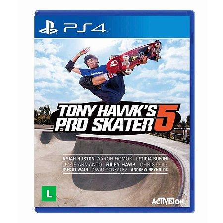 Jogo Tony Hawks Pro Skater 5 - PS4