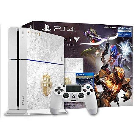 Console PlayStation 4: Edição Especial Destiny The Taken King: Edição Lendária 500 Gb - Sony