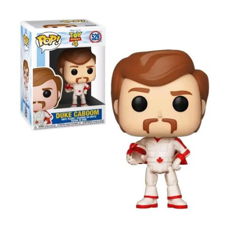 Boneco Duke Caboom 529 Toy Story 4 - Funko Pop!