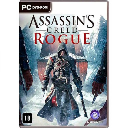 Jogo Assassin's Creed Rogue - PC