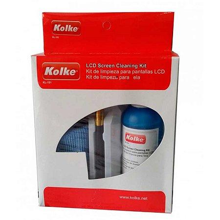 Kit Kolke para Limpeza de Tela LCD