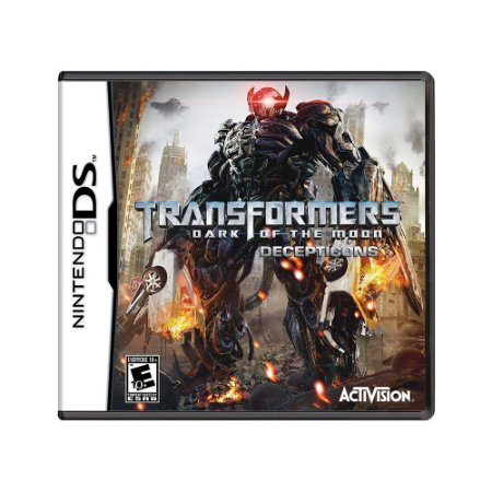 Jogo Transformers: Dark of The Moon Decepticons - DS
