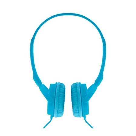 Fone de Ouvido Alpha Colorblock Azul com fio