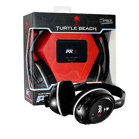 Super Headset Turtle Beach Ear Force PX3 - Multiplataforma