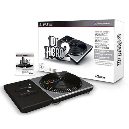 Jogo Dj Hero 2 (turntable Bundle) - PS3