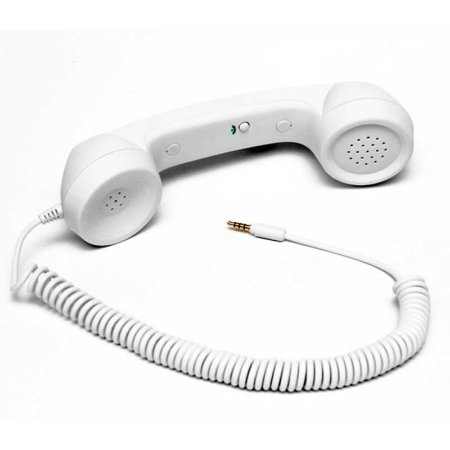 Fone Headset Retro Pop Phone Branco