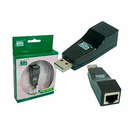 Conversor USB Hitto Para Rj45