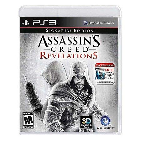 Jogo Assassin's Creed Revelations (Signature Edition) - PS3