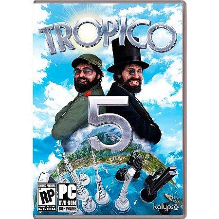 Jogo Tropico 5 - PC