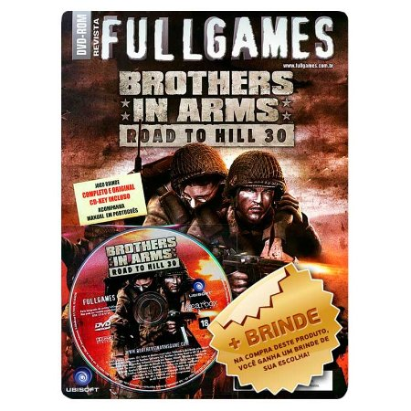 Revista Brothers in Arms: Road To Hill 30 - Fullgames Nº 96