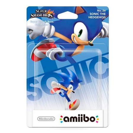 Nintendo Amiibo: Sonic - Super Smash Bros - Wii U e New Nintendo 3DS