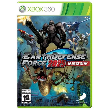 Jogo Earth Defense Force 2025 - Xbox 360