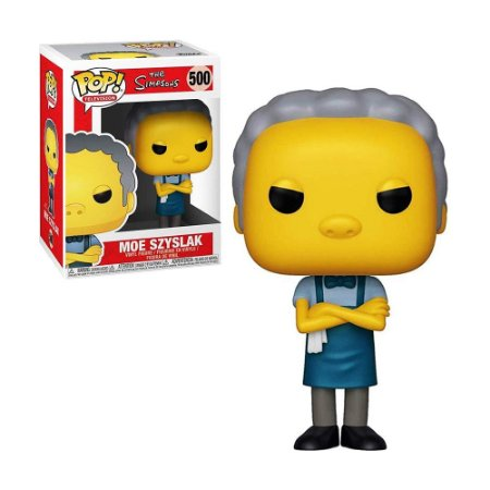 Boneco Moe Szyslak 500 The Simpsons - Funko Pop!