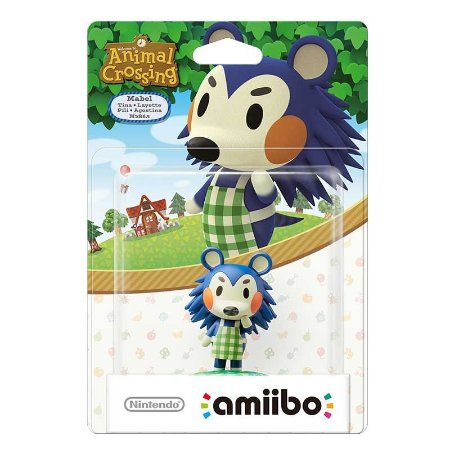 Nintendo Amiibo: Mabel Layette - Animal Crossing - Wii U e New Nintendo 3DS